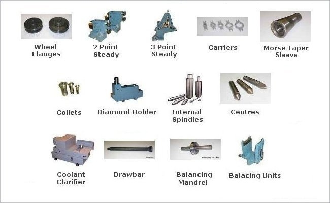Cylindrical Grinder Accessories