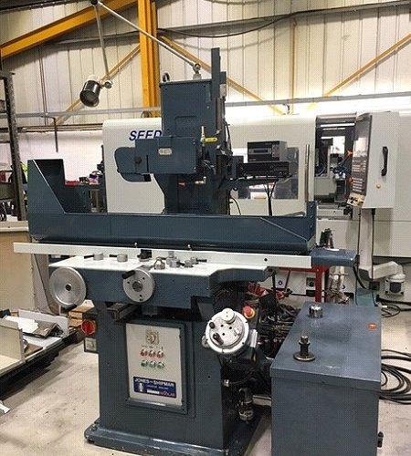 Jones & Shipman Model 1400LAR Surface Grinder