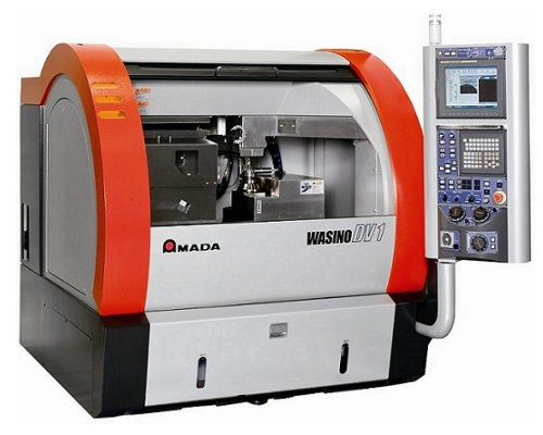 Amada DV1. Optical Profile CNC Grinding Machine