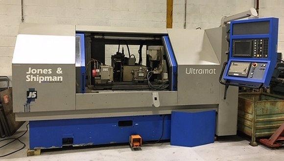 Jones & Shipman Model Ultramat E CNC External Cylindrical Grinding Machine
